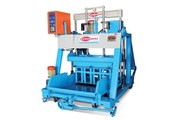 Hollow-solid Concrete Block Making Machine